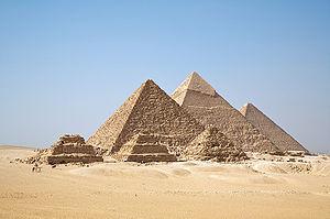 All Gizah Pyramids in one shot.