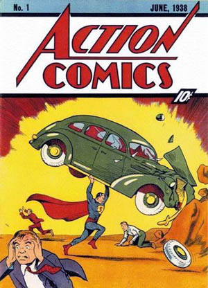Action Comics #1 (June 1938), the introduction...