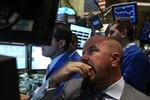 NEW YORK - SEPTEMBER 16:  Traders work on of t...